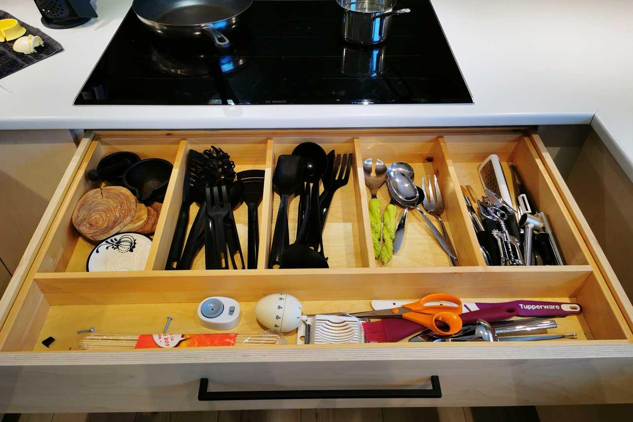 Kjøkkeninnredning på Langhus