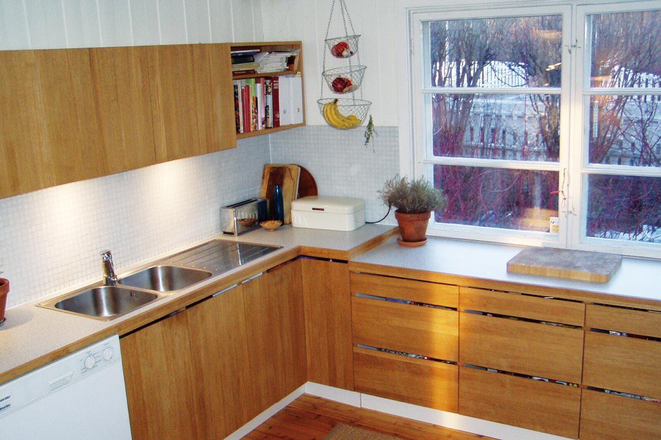 Kjøkken i eik