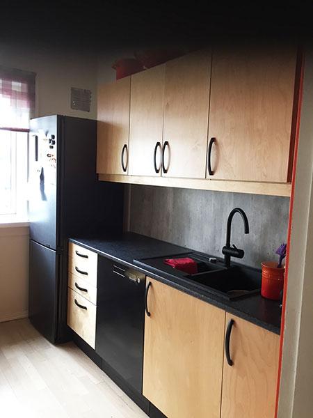 Nye kjøkkenfronter